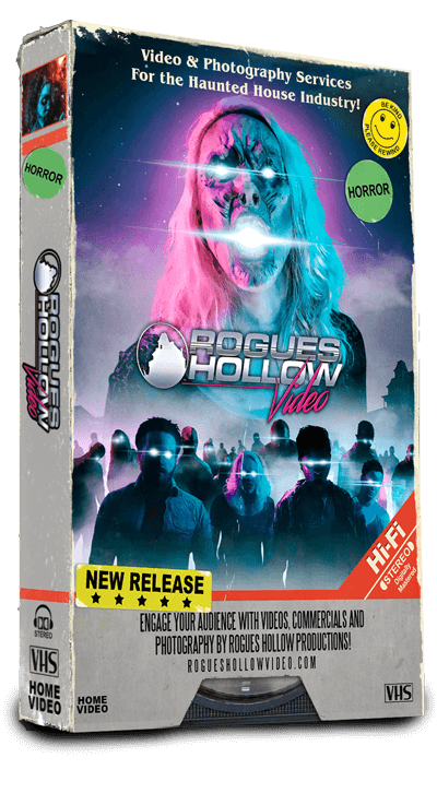 Rogues Hollow Video Videocassette Box